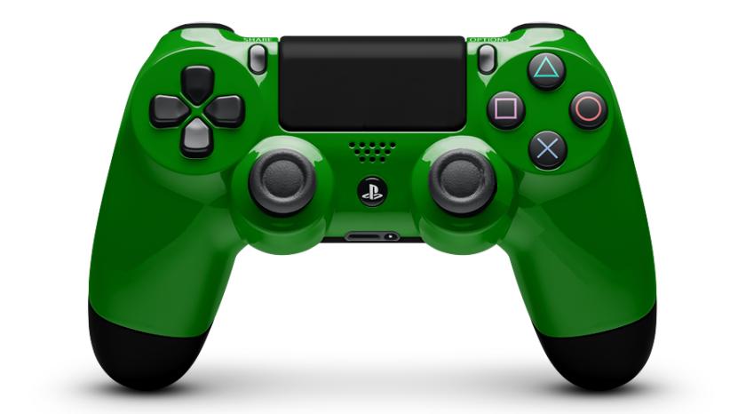 My SmeeTaMaya Sony Green PlayStation Controller